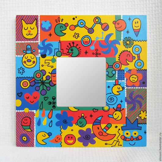 """Зеркала ручной работы. Ярмарка Мастеров - ручная работа. Купить """"Воображариум"""". Handmade. Воображариум, игра, интерьер, для ребенка"""
