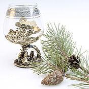 Посуда handmade. Livemaster - original item A glass of brandy