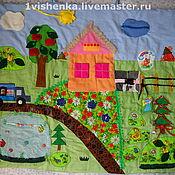 Для дома и интерьера ручной работы. Ярмарка Мастеров - ручная работа развивающий коврик. Handmade.