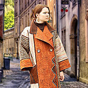 """Одежда ручной работы. Ярмарка Мастеров - ручная работа Пальто """"И снова дежа вю""""...... Handmade."""