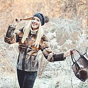 Одежда ручной работы. Ярмарка Мастеров - ручная работа Шубка из меха ондатры и бобра. Handmade.