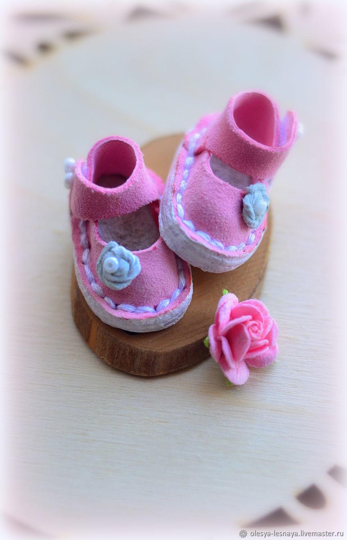 Розовые туфли для Блайз/Пуллип, Одежда для кукол, Иркутск,  Фото №1