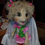Куклы и игрушки ручной работы. Ярмарка Мастеров - ручная работа Аленка. Планшетная театральная кукла.. Handmade.