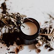 Свечи ручной работы. Ярмарка Мастеров - ручная работа Earth - Элемент Земли Ароматическая соевая свеча в банке. Handmade.