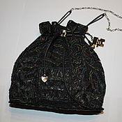 Классическая сумка ручной работы. Ярмарка Мастеров - ручная работа Ажурная кожаная сумочка от-кутюр. Handmade.
