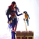 Кукла Ведьма -пиратка, Куклы и пупсы, Екатеринбург,  Фото №1