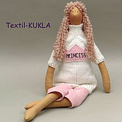 Куклы и игрушки handmade. Livemaster - original item Tilda Princess is a textile doll. Handmade.