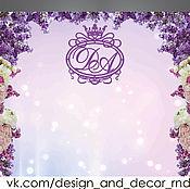 Свадебный салон handmade. Livemaster - original item Press wall, background, banner. Handmade.