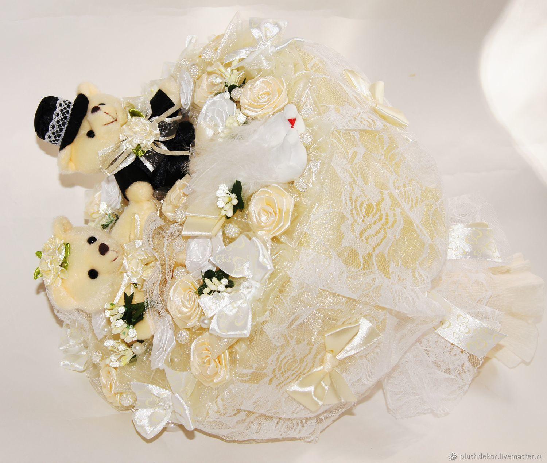 Букет подарить невесте из игрушек, цветов фото москва