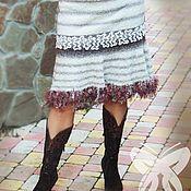 """Одежда ручной работы. Ярмарка Мастеров - ручная работа Авторская зимняя юбка""""""""Сумерки"""". Handmade."""