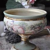 Подарки к праздникам handmade. Livemaster - original item The candy bowl/plate. Handmade.
