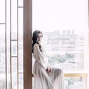 Одежда handmade. Livemaster - original item Silk dressing gown.. Handmade.