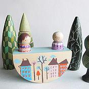 Куклы и игрушки ручной работы. Ярмарка Мастеров - ручная работа Качели. Handmade.
