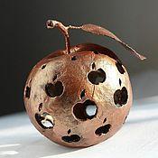 Для дома и интерьера ручной работы. Ярмарка Мастеров - ручная работа Бронзовое яблоко. Handmade.