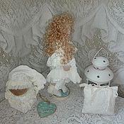 Куклы и игрушки ручной работы. Ярмарка Мастеров - ручная работа Ангел хранитель Вашего дома и семьи (текстильная кукла оберег). Handmade.