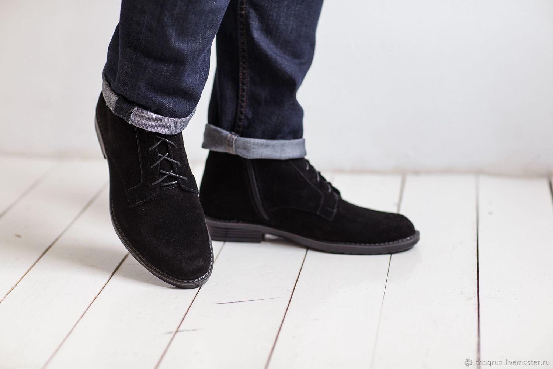 739a4043f Обувь ручной работы. Заказать Мужские ботинки с квадратным носком Chaqrua.
