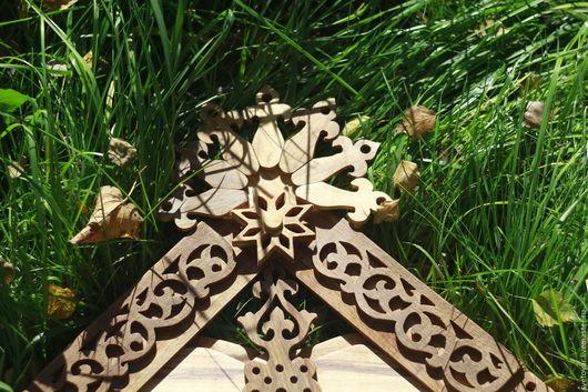 Зеркала ручной работы. Ярмарка Мастеров - ручная работа. Купить Зеркало Чудесное. Handmade. Коричневый, натуральное дерево
