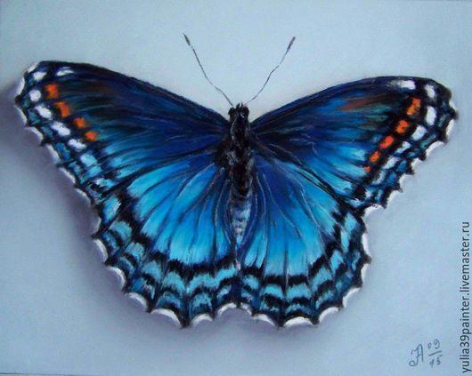 Животные ручной работы. Ярмарка Мастеров - ручная работа. Купить Бабочка. Handmade. Разноцветный, насекомые, пастель