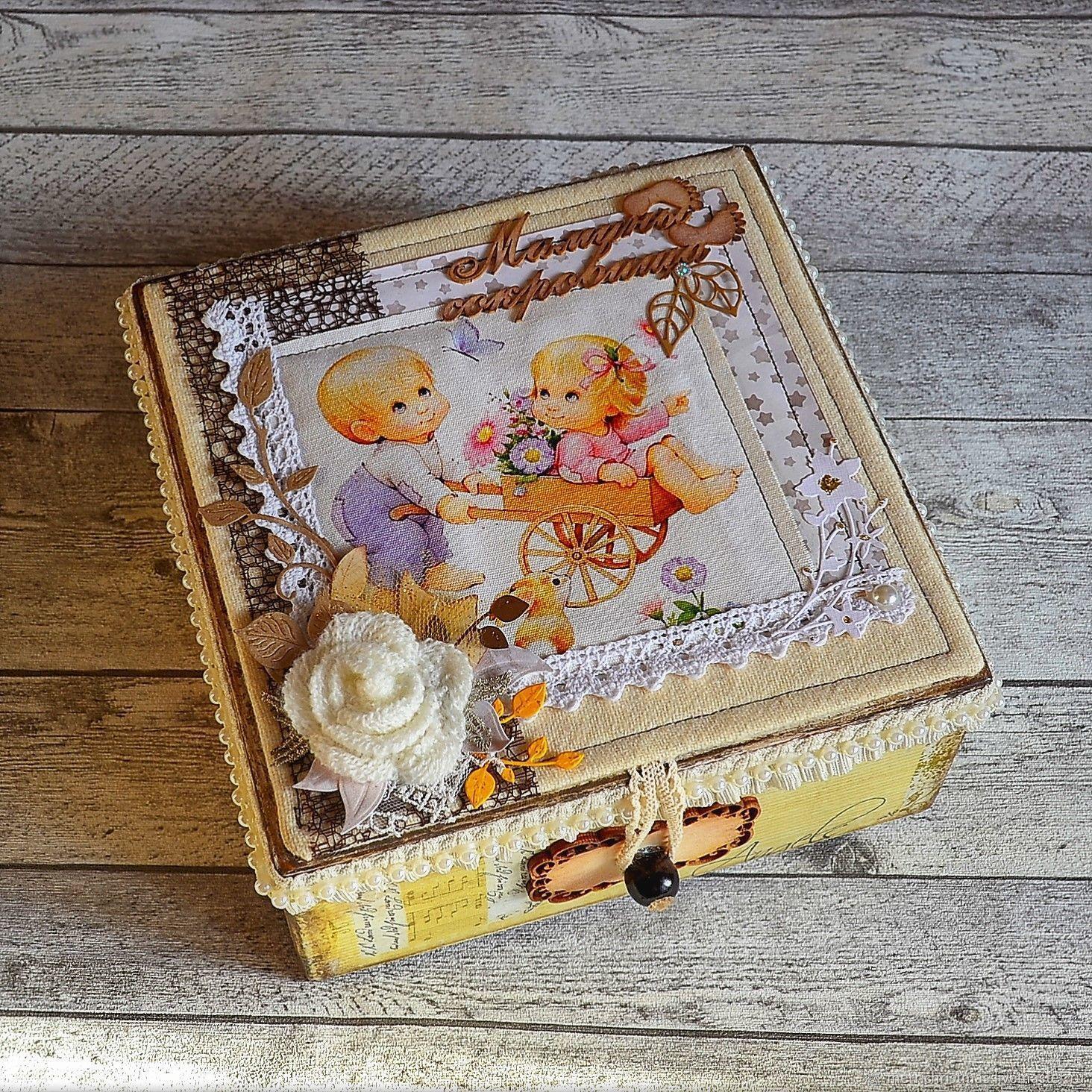 cce0a21717bb Photo Albums handmade. Livemaster - handmade. Buy Baby photo album and  casket  Mom s ...
