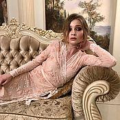 Одежда ручной работы. Ярмарка Мастеров - ручная работа Платье для дома Аристократка. Handmade.