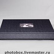 Свадебный салон ручной работы. Ярмарка Мастеров - ручная работа фотокнига в футляре. Handmade.