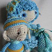 Куклы и игрушки ручной работы. Ярмарка Мастеров - ручная работа Фея Незабудка и ее помощник Снуп. Handmade.
