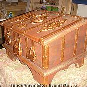Для дома и интерьера ручной работы. Ярмарка Мастеров - ручная работа Сундук. Handmade.