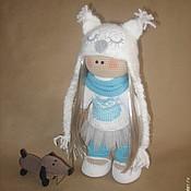 Куклы и игрушки ручной работы. Ярмарка Мастеров - ручная работа Куколка с таксой.. Handmade.
