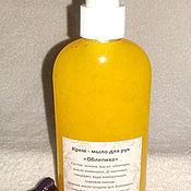 Косметика ручной работы handmade. Livemaster - original item Cream - hand soap sea Buckthorn. Handmade.