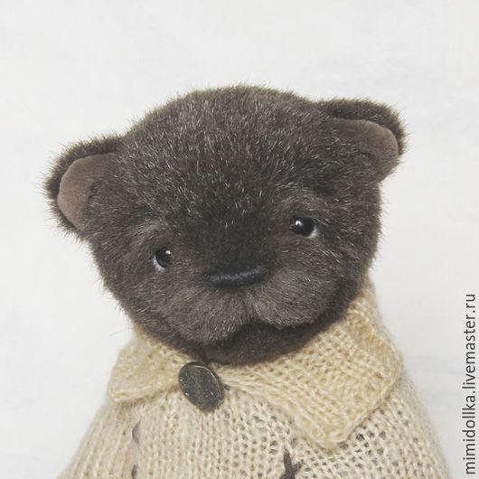 Мишки Тедди ручной работы. Ярмарка Мастеров - ручная работа. Купить Бадди мишка тедди. Handmade. Коричневый, милый подарок