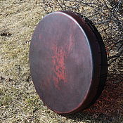 Музыкальные инструменты handmade. Livemaster - original item Diamonds leather Burgundy 60 cm.. Handmade.