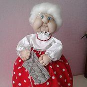 Для дома и интерьера ручной работы. Ярмарка Мастеров - ручная работа Бабка на чайник. Handmade.