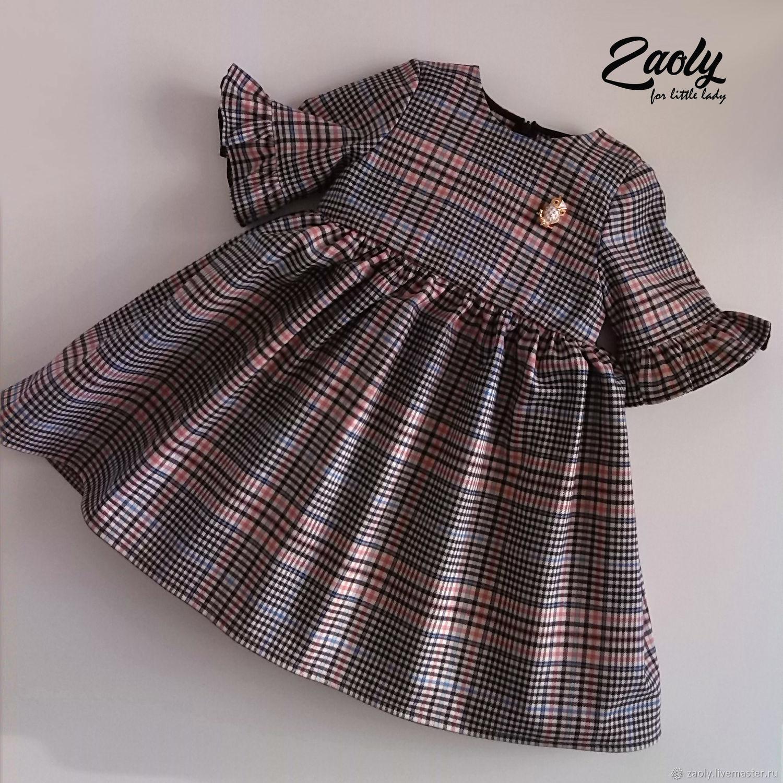Платье для девочки Розовый штрих