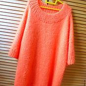 Одежда ручной работы. Ярмарка Мастеров - ручная работа Платье свитер ГЕРБЕРА. Handmade.