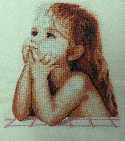 """Люди, ручной работы. Ярмарка Мастеров - ручная работа. Купить Картина """"Детские мечты"""" Серия Свет жизни. Handmade. люди"""