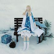 """Подарки к праздникам ручной работы. Ярмарка Мастеров - ручная работа Кукла ручной работы """"Снегурочка"""". Handmade."""