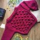 """Кофты и свитера ручной работы. Ярмарка Мастеров - ручная работа. Купить Вязаный свитер ручной работы """"Пампушки"""". Handmade."""