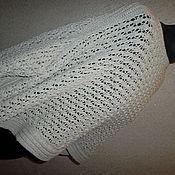 Одежда ручной работы. Ярмарка Мастеров - ручная работа джемпер Серебро. Handmade.