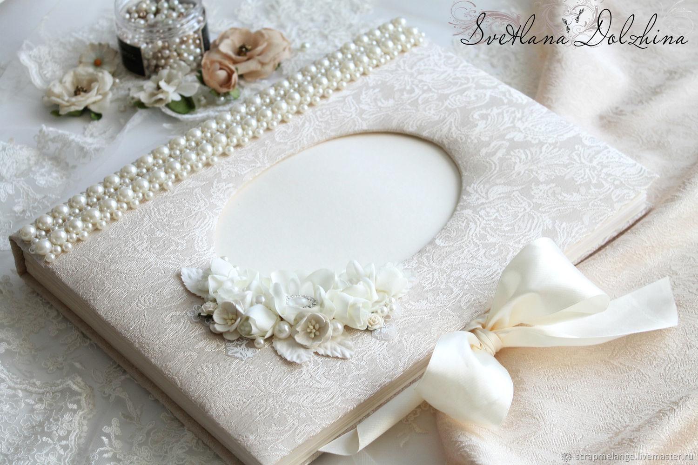 """Свадебный альбом """" Wedding"""" подарок белый, Photo albums, Tyumen,  Фото №1"""