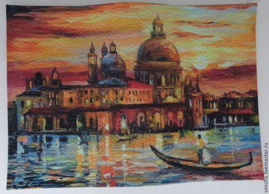 Обложка на паспорт, обложка на автодокументы, Венеция, кожаная обложка, прикольная обложка, Италия