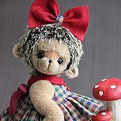 Куклы и игрушки ручной работы. Ярмарка Мастеров - ручная работа Ежик Жужа. Handmade.