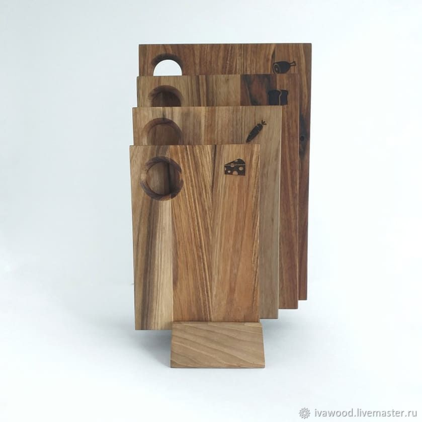 Kitchen handmade. Livemaster - handmade. Buy Cutting Board of walnut, the boards for filing walnut.Gift set