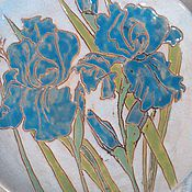 Посуда handmade. Livemaster - original item A set of ceramic plates from the series