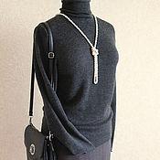 Одежда ручной работы. Ярмарка Мастеров - ручная работа Водолазка удлиненная. Handmade.