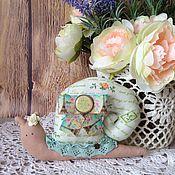 """Куклы и игрушки ручной работы. Ярмарка Мастеров - ручная работа Улитка """"Весна в Париже"""" 2. Handmade."""