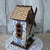 """Для дома и интерьера ручной работы. Ярмарка Мастеров - ручная работа чайный домик """"Мельница"""". Handmade."""