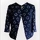"""Пиджаки, жакеты ручной работы. Ярмарка Мастеров - ручная работа. Купить Пиджак в стиле """"Диор"""". Handmade. Черный, пиджак, жакет"""