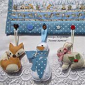Подарки к праздникам handmade. Livemaster - original item Christmas textile mural