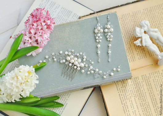 гребень, гребень для волос, гребешок, гребень серебро, гребни, гребень с цветами волосы, гребни для волос, свадебный гребень, свадебные аксессуары, свадебные украшения, украшение невесты,  украшения,