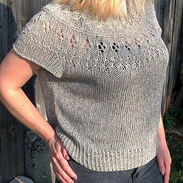 Clothing handmade. Livemaster - original item Pullover with sequins. Handmade.
